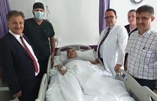 """Devlet Hastanesi'nde ikinci kez """"ağrı pili""""..."""