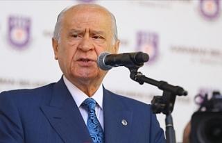 """""""Doğu Akdeniz nedeniyle yaptırımlar bize vız..."""