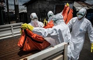 Ebola salgınında yaşamını yitirenlerin sayısı...