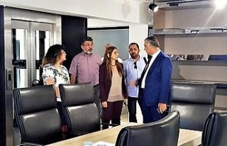 Eğitim Bakanı Çavuşoğlu, YÖDAK'ı ziyaret...