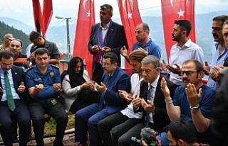 Eren'i anma etkinliğine KKTC Karadeniz Kültür...