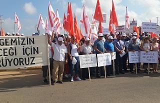 Eylemciler, Çayırova'ya ulaştı