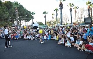 Festivalde çocuk şenliği düzenlendi