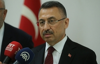 Fuat Oktay, Ercan'da incelemelerde bulundu ve...