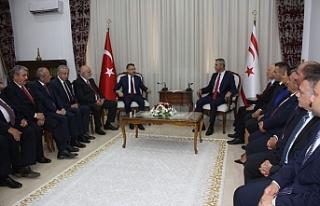Fuat Oktay Meclis Başkanı Uluçay'ı da ziyaret...