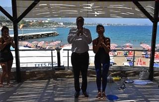 Girne Belediyesi gençlik atölyesi devam ediyor