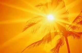 Hava sıcaklığı iç kesimlerde 40 dereceye kadar...