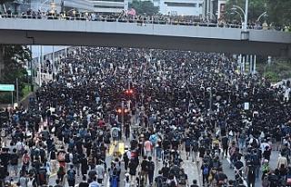Hong Kong'da halk Çin'e iade yasasını...