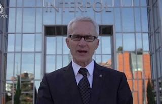 Interpol genel sekreteri Güney Kıbrıs'ta