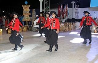 İskele'de Uluslararası Halk Dansları Festivali