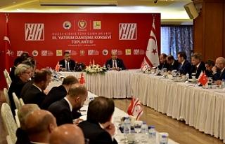 KKTC III. Yatırım Dayanışma Konseyi Toplantısı...