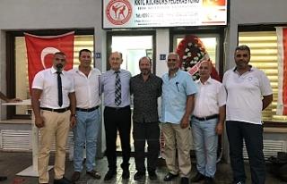 KKTC Kickboks Federasyonu hizmet binası açıldı