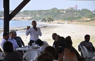 """Lapta Belediyesi """"Güzelyalı Halk Plajı""""..."""
