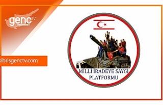 Milli İradeye Saygı Platformu'ndan 15 Temmuz...