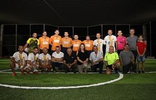 Naci Talat Halı Saha Turnuvası başladı