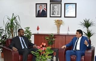 Oğuz, Somali Tarım Bakanı ile görüştü