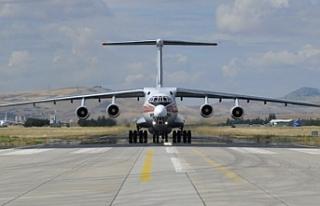 S-400 intikali devam ediyor: Yeni parçalar Ankara'ya...
