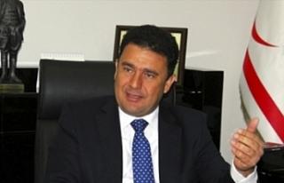 """Saner:"""" Kıbrıs'ta bir anlaşmaya ulaşılmasına..."""