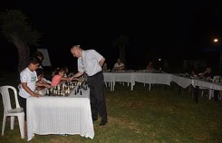 Satrançcılar Alsancak'ta yarıştı