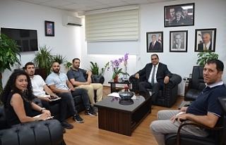 Sucuoğlu, Mobilya Sanayicileri Derneğini kabul etti