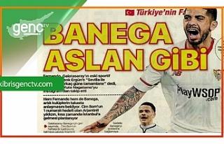 Türkiye'de spor manşetleri ile transfer haberleri