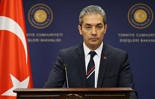 """Türkiye Dışişleri'nden """"füze""""..."""