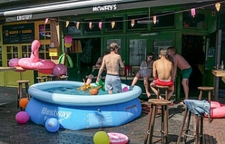 Belçika'da sıcaklık ilk kez 41,8 olarak ölçüldü