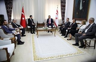 Uluçay, Türkiye'den Demokrat Parti Genel Başkanı...
