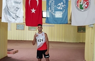 Yorulmaz Türkiye şampiyonu
