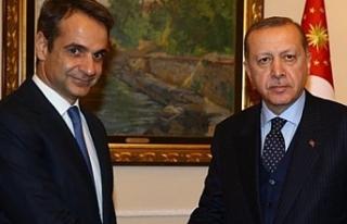 Yunan Başbakan'dan Türkiye Cumhurbaşkanı Erdoğan'a...