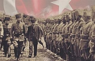 30 Ağustos zafer bayramı Türkiye'yle birlikte...