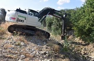Alsancak Belediyesi'nin ıslah çalışmaları...