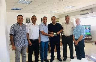 Baf Türk Birliği Yöneticilerinden Ertan Birinci'ye...