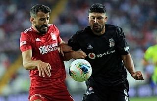 Beşiktaş'a Sivas'ta şok