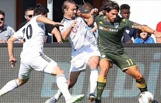 Beşiktaş hazırlık maçında Brescia'ya yenildi