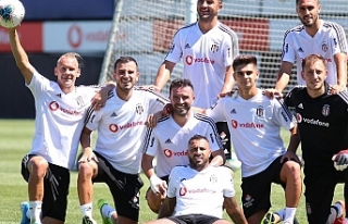 Beşiktaş, Sivas maçına hazırlanıyor