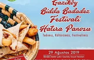 Bidda Badadez Festivali yapılıyor