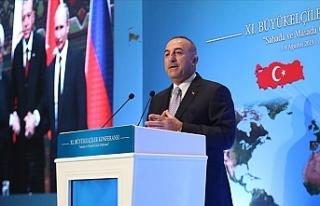 """Çavuşoğlu: """"Kıbrıs Milli davamızdır"""""""