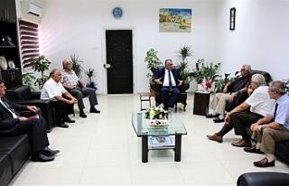 Çavuşoğlu, Kıbrıs TMT Mücahitler Derneği'nden...
