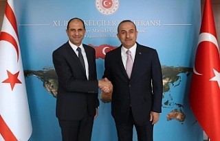 Çavuşoğlu'ndan Özersay'a teşekkür