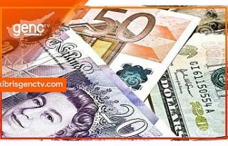 Dolar, Euro ve Sterlin'de son rakamlar