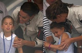 Düşes Kate Middleton'ın kızı 4 yaşındaki...