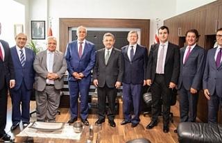 Ekonomi Bakanı Taçoy, Turkcell yönetim kurulu ile...