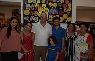 EMAA çocuk atölyesi kurs sergisi açıldı