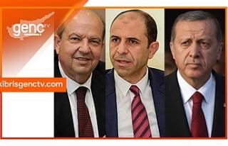 Erdoğan ile görüşecekler...Tatar ve Özersay Ankara'ya...