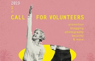 Festivalde, görev almak isteyen gönüllüler için...