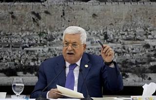 "Filistin Devlet Başkanı Abbas'tan ""İsrail'in..."