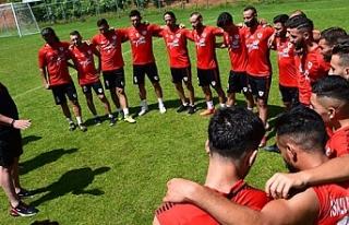 Gençlerbirliği'nin İzmit Kartepe kampı başladı