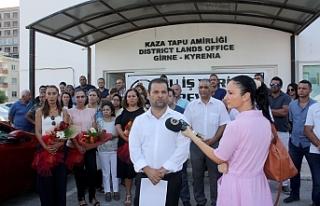 Girne Tapu Dairesi'nde grev