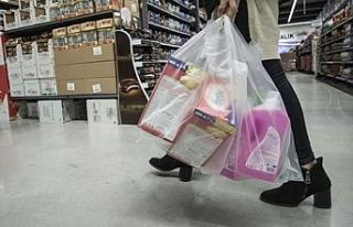 İngiltere'de plastik poşet kullanımı yüzde...